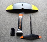 ナッシュフォイル NAISH FOIL | 2019 THRUST SURF FOIL SET(mast55cm)+FRONT WING JET2450 中古フォイルセット